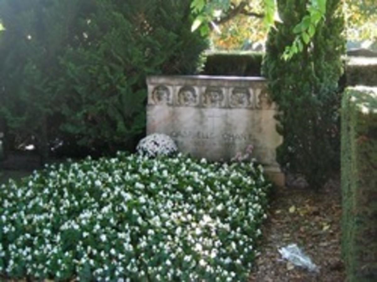 Coco's Grave Marker, Switzerland