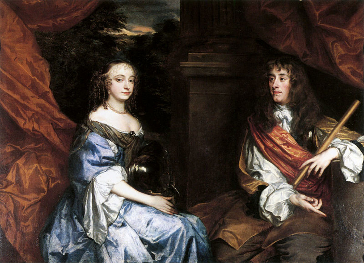 James II married English commoner, Anne Hyde, first.