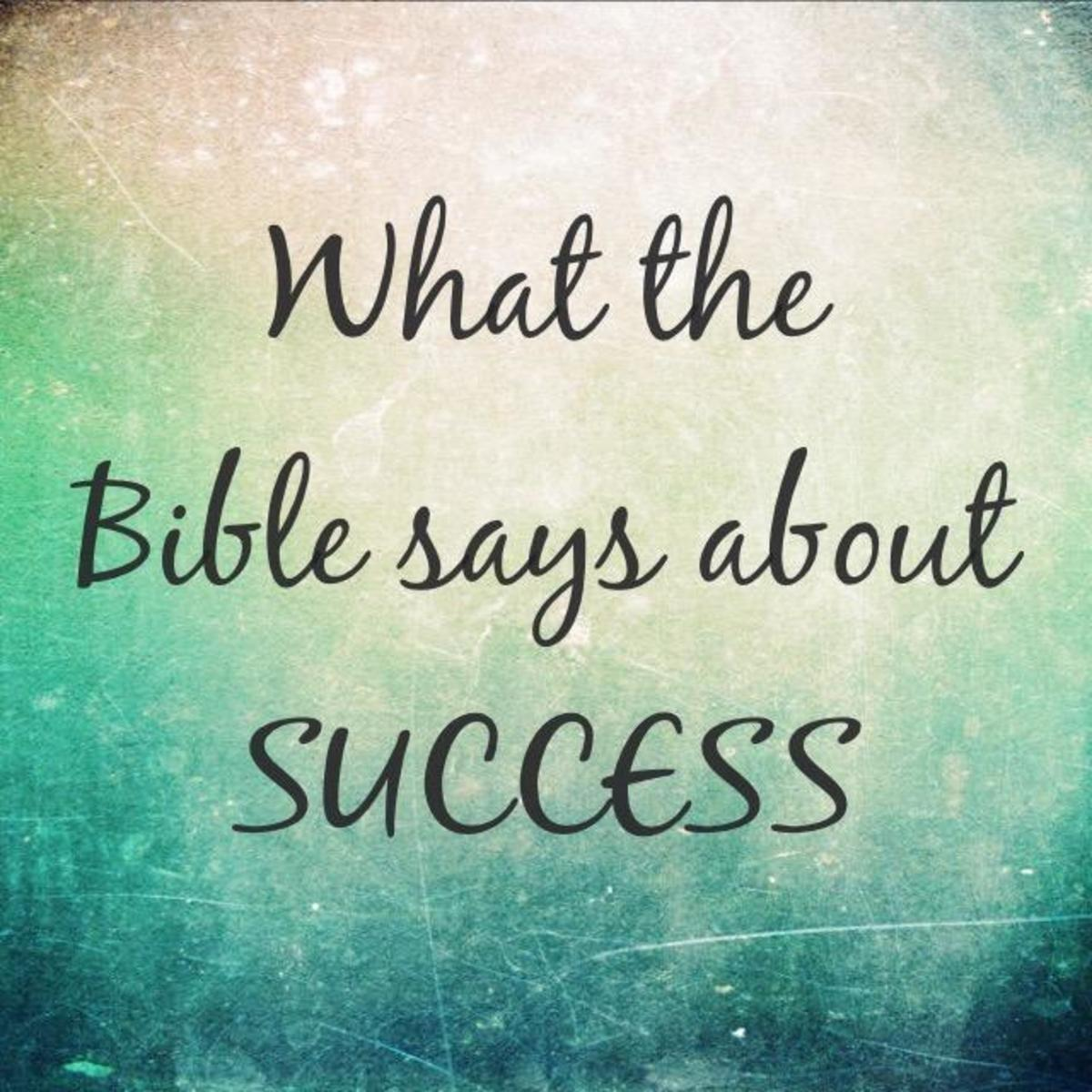 What the Bible Says About Success