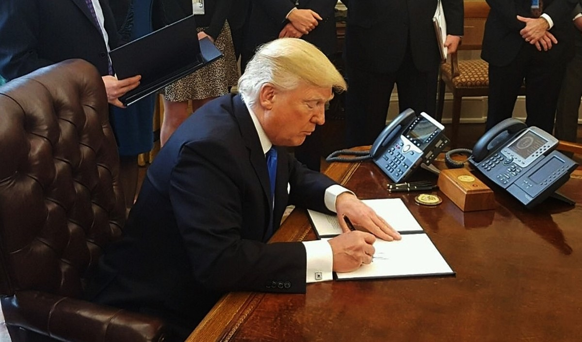 With Trump, We Said Goodbye to Gridlock, Hello to Express Lane; President Trump Hit D.C. Running and Never Slowed Down
