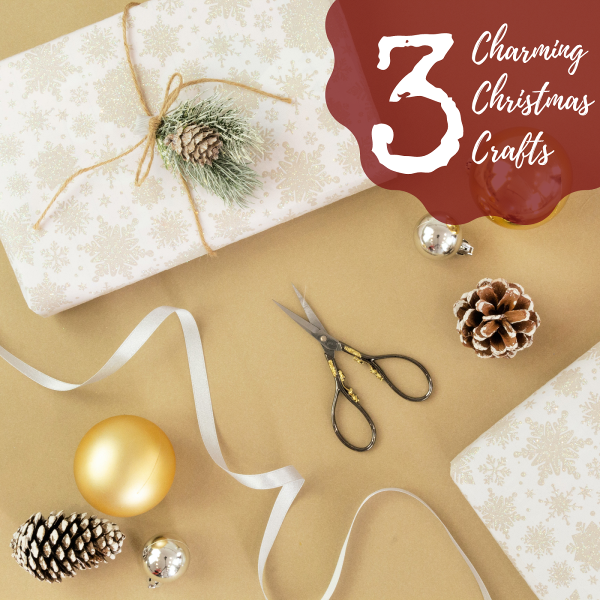 These three easy-to-make Christmas crafts will light up your home for the holidays.