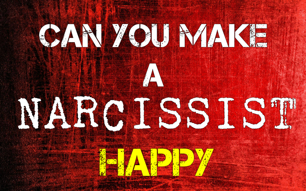Will a narcissist ever be happy