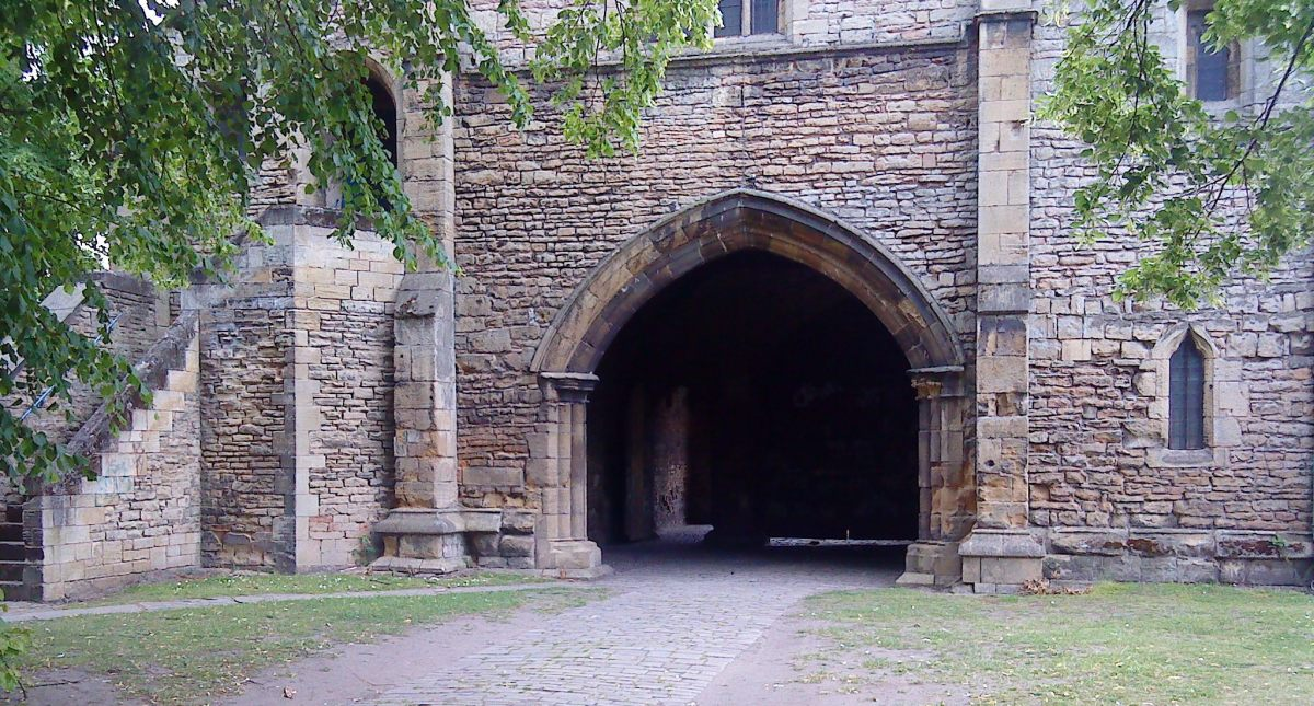Worksop Priory Gatehouse