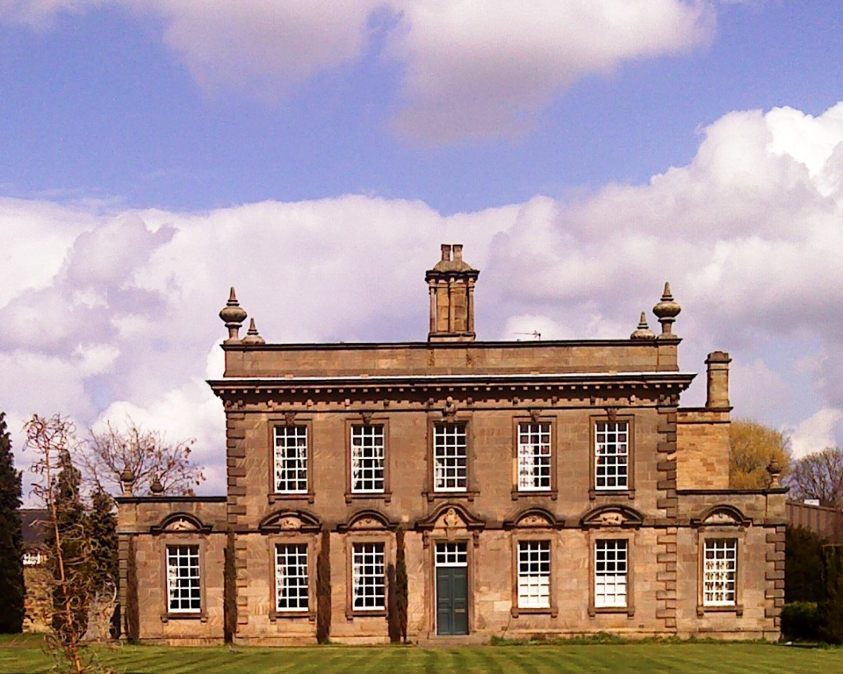 Kettlethorpe Hall, built in 1727