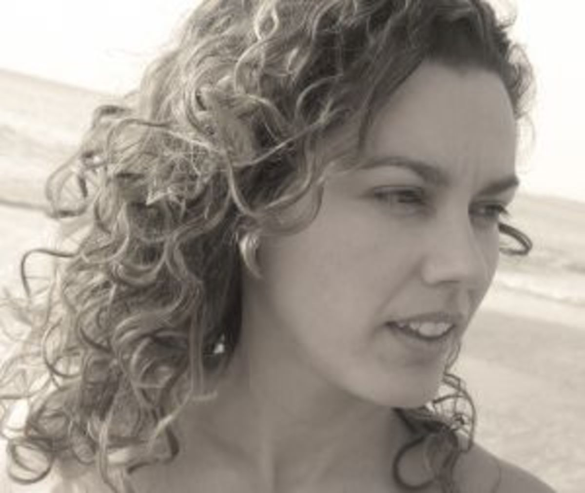 Curly hair is beautiful in it's own way whether long or short.