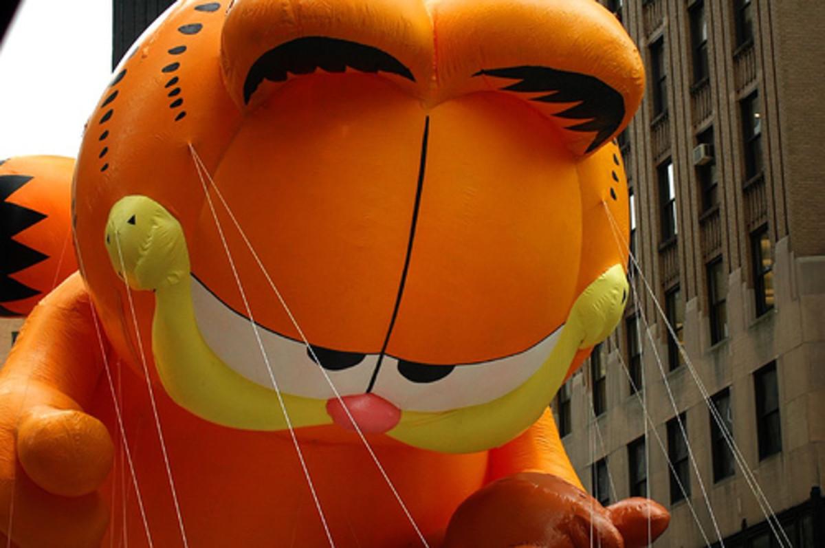 Garfield Thanksgiving Parade Balloon