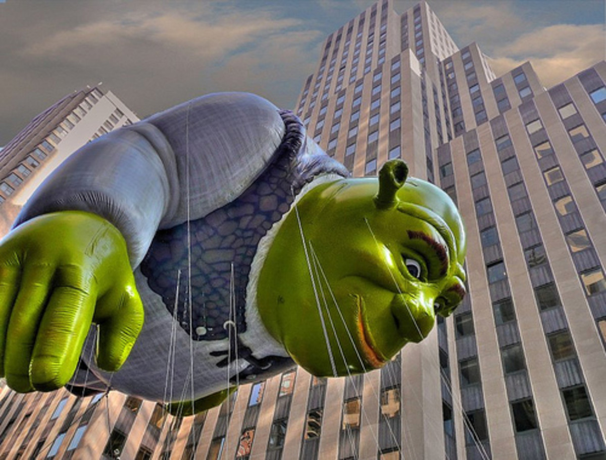 Macy's Thanksgiving Day Parade Balloon- Shrek