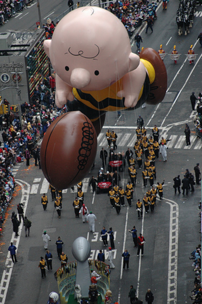 Classic Macy's Parade Balloon- Charlie Brown