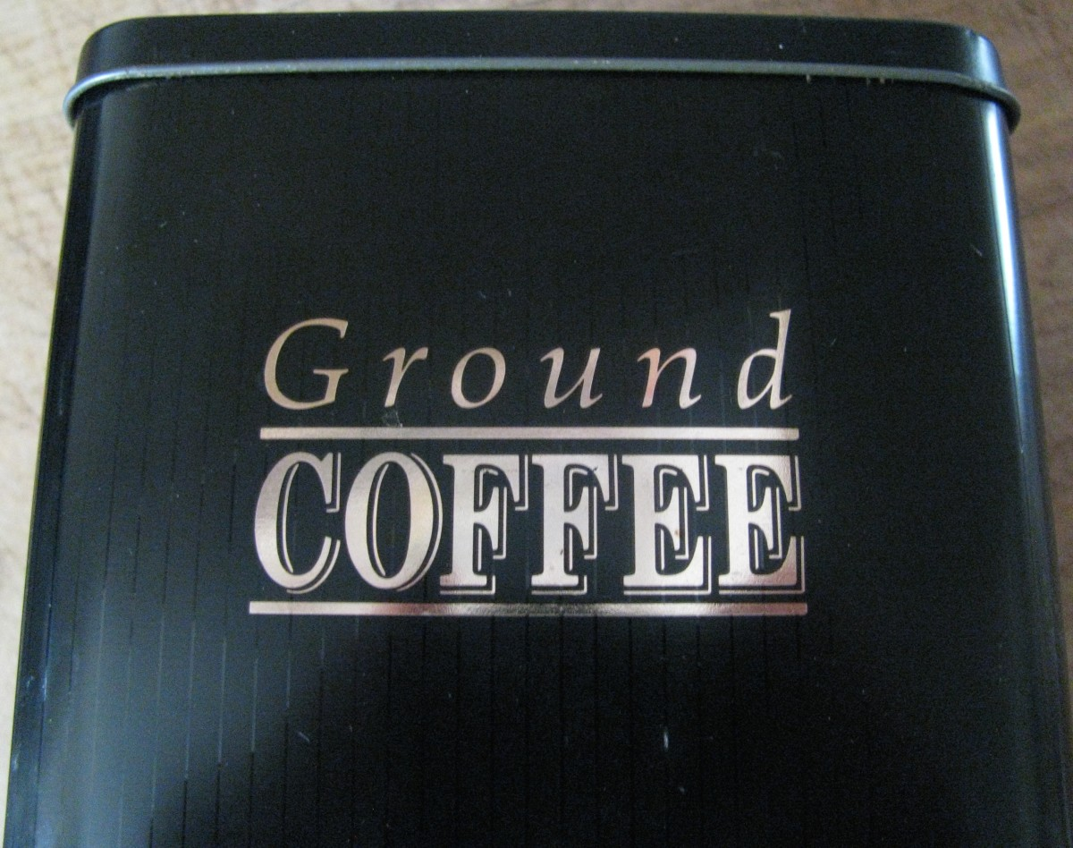 You can grind your own coffee.