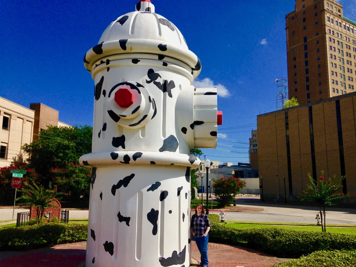 Visit the World's Largest Working Fire Hydrant in Beaumont, TX