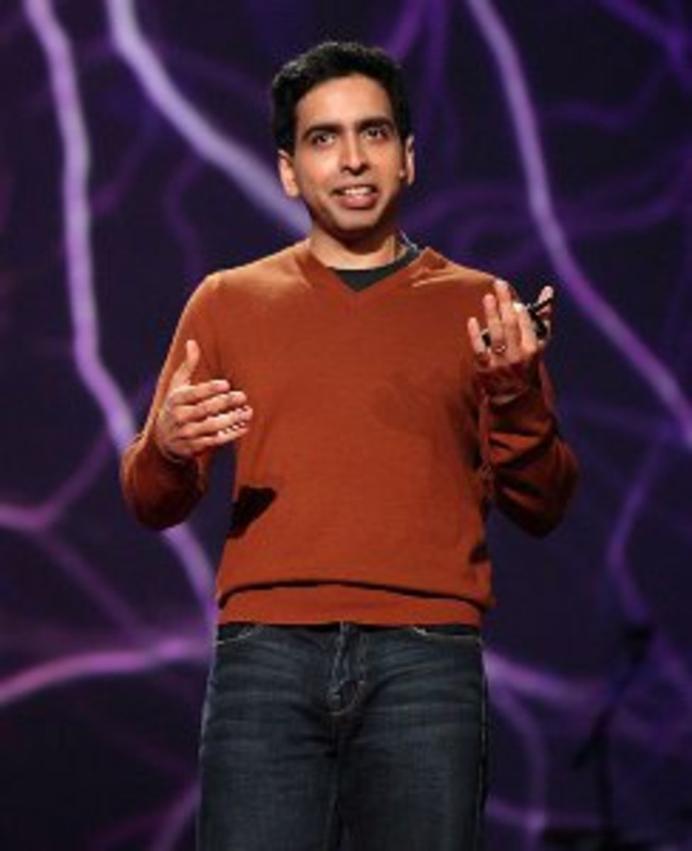 Salman Khan at the 2011 TED Talk