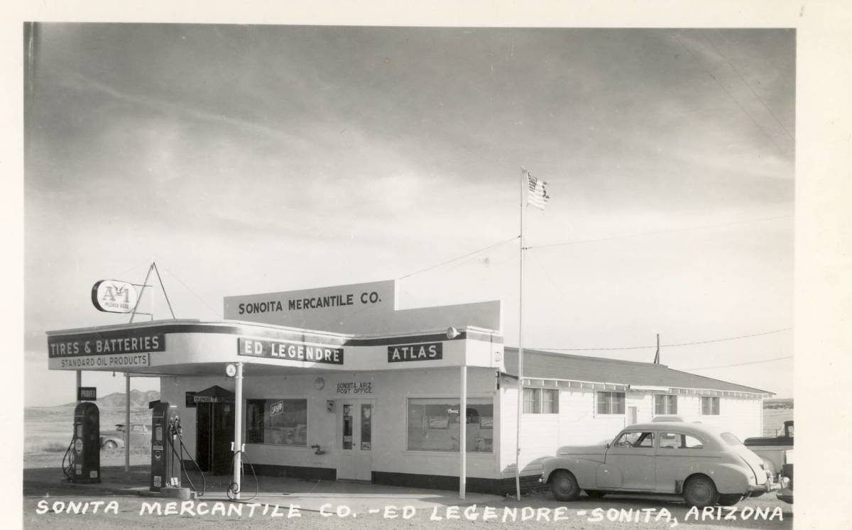 Service station and merchantile, Sonoita Arizona