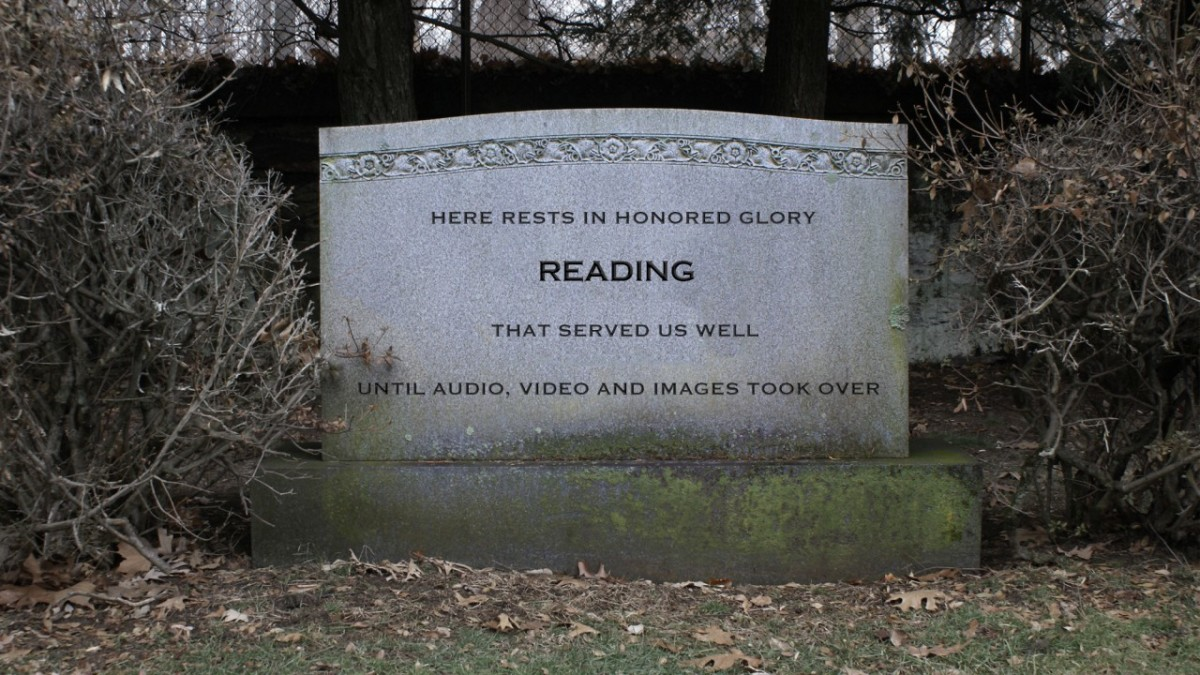 The death of reading