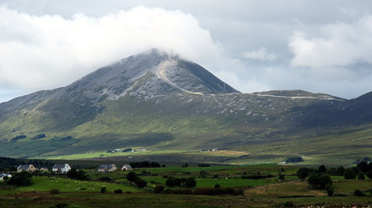 The countryside of County Mayo where Captain Gallagher plied his trade.