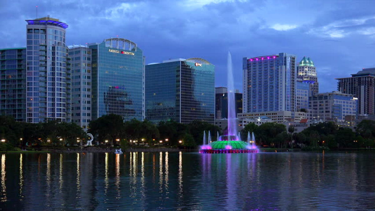 Orlando - Named, The City Beautiful, many years ago.