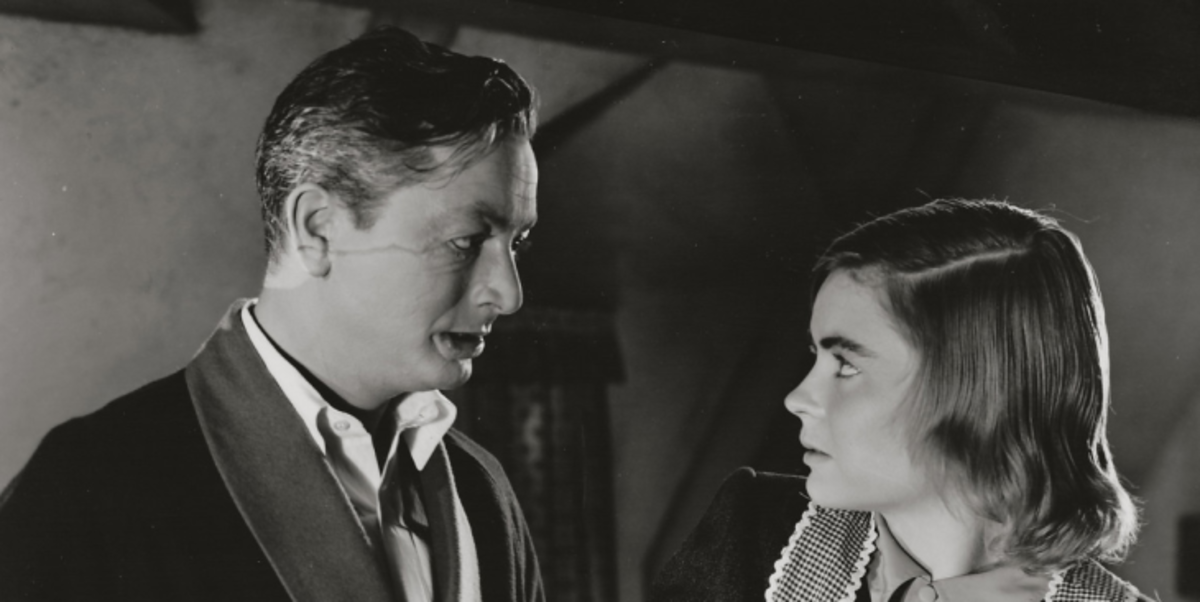 Robert Young and Dorothy McGuire face each other in their undesireability