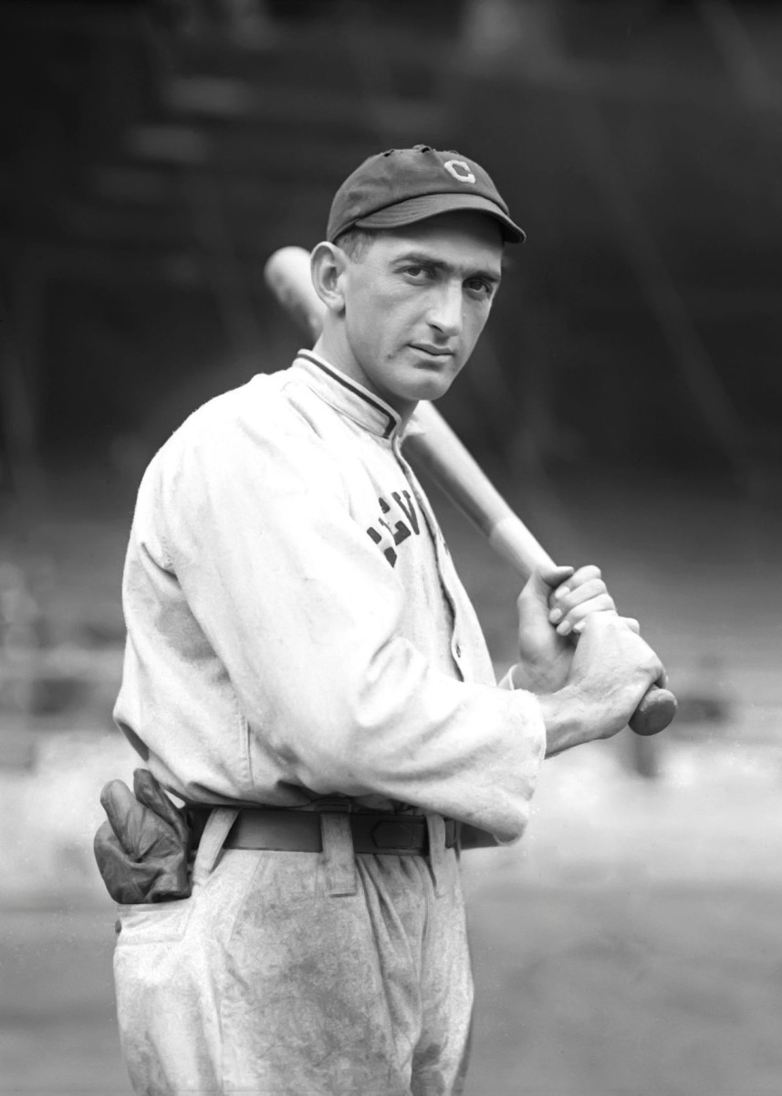 Shoeless Joe Jackson became a superstar after he was acquired by the Indians.