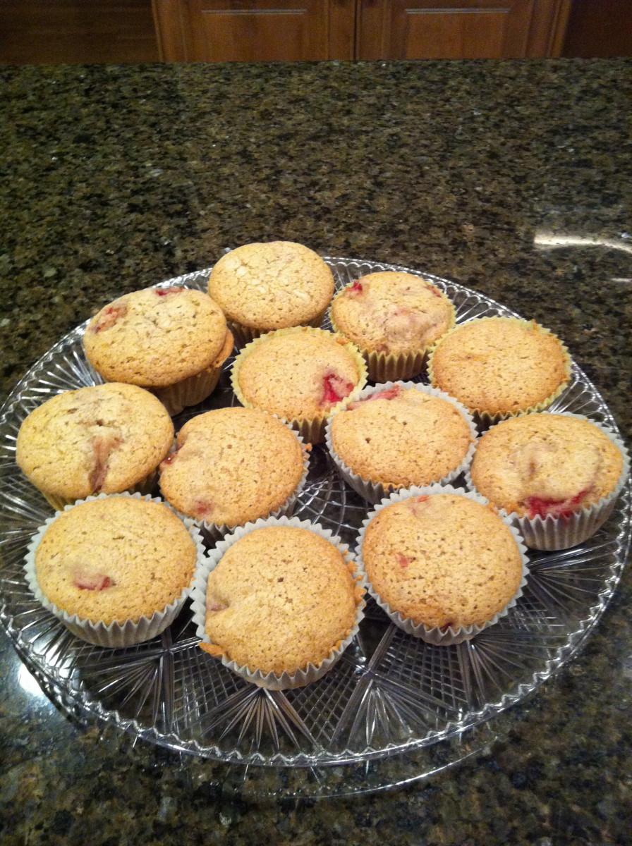 Strawberry Cinnamon Muffins