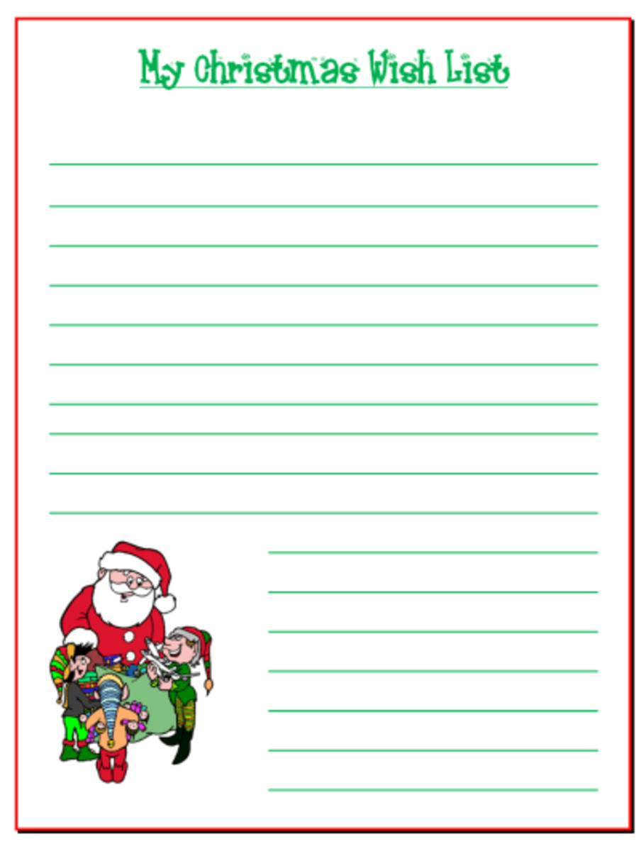 Christmas List Maker Printable. Bonus: Use This Free Christmas