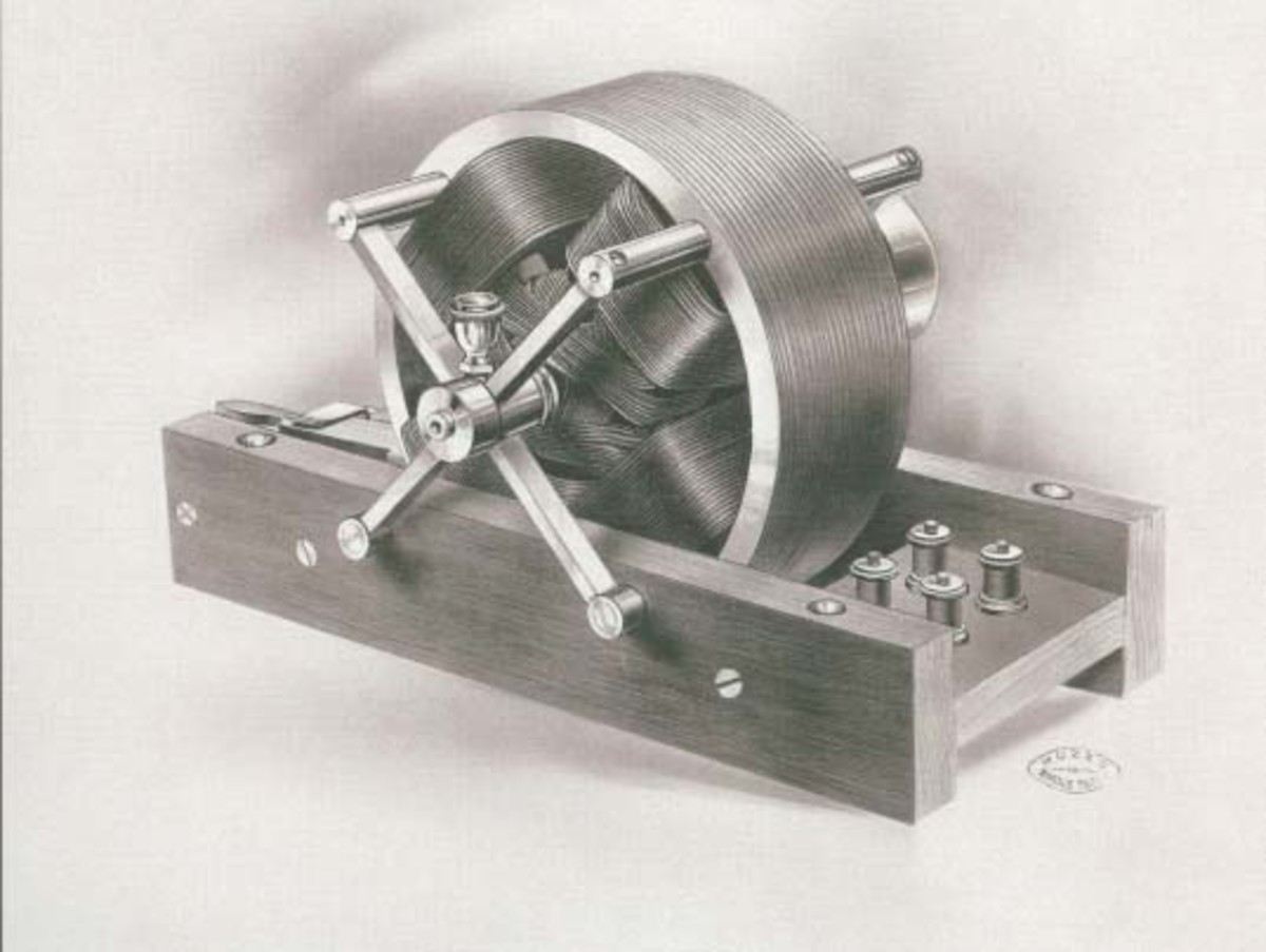 Nikola Tesla's Design Of Induction Motor