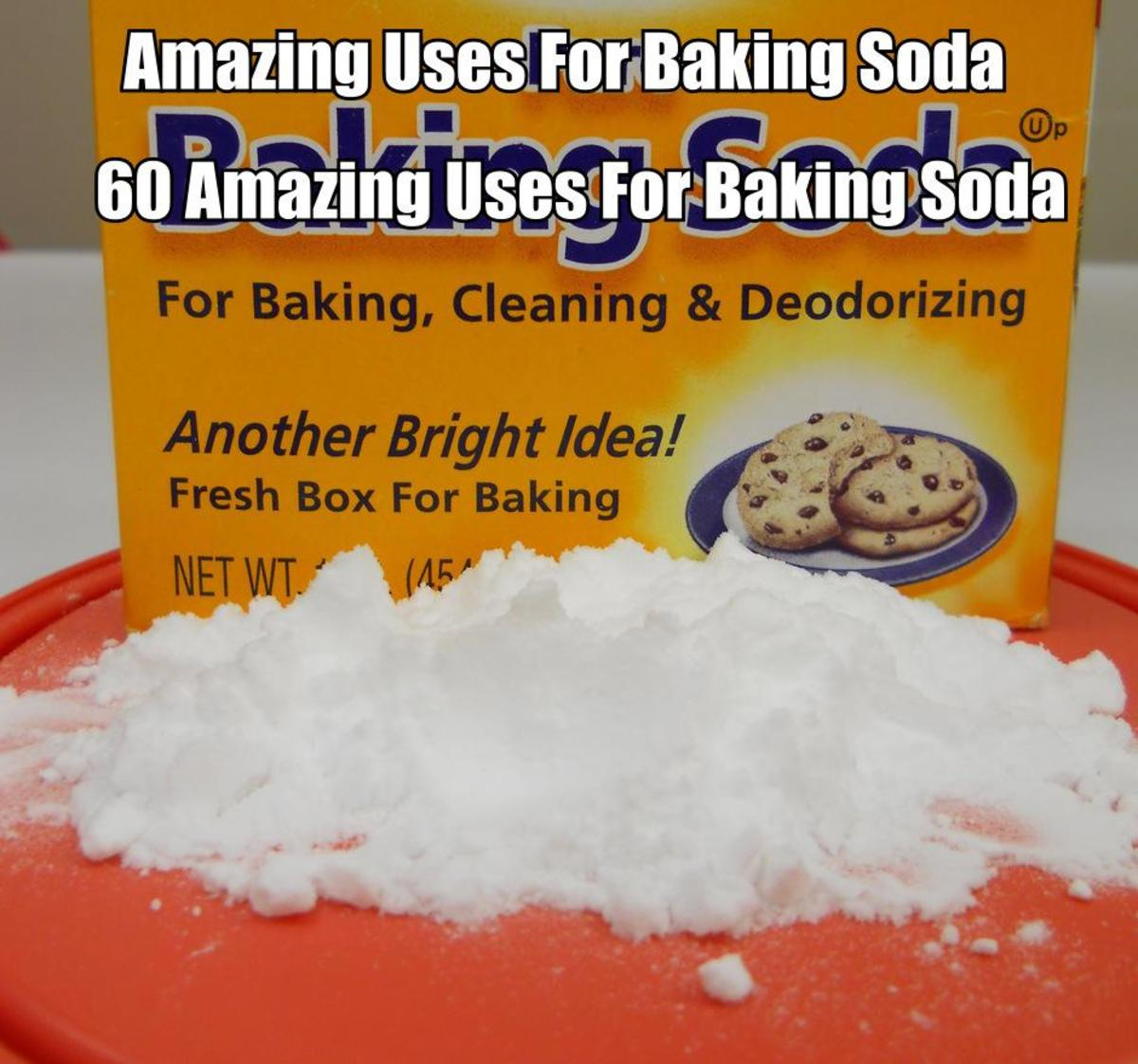 60 Amazing Uses For Baking Soda