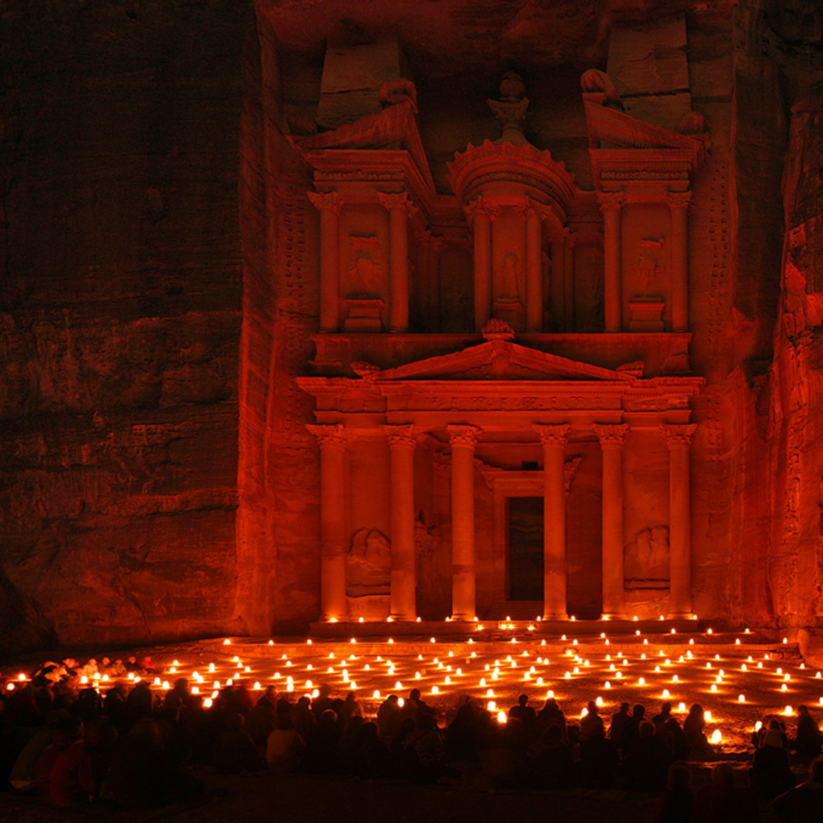 Haunted Places: Petra and the Djinn