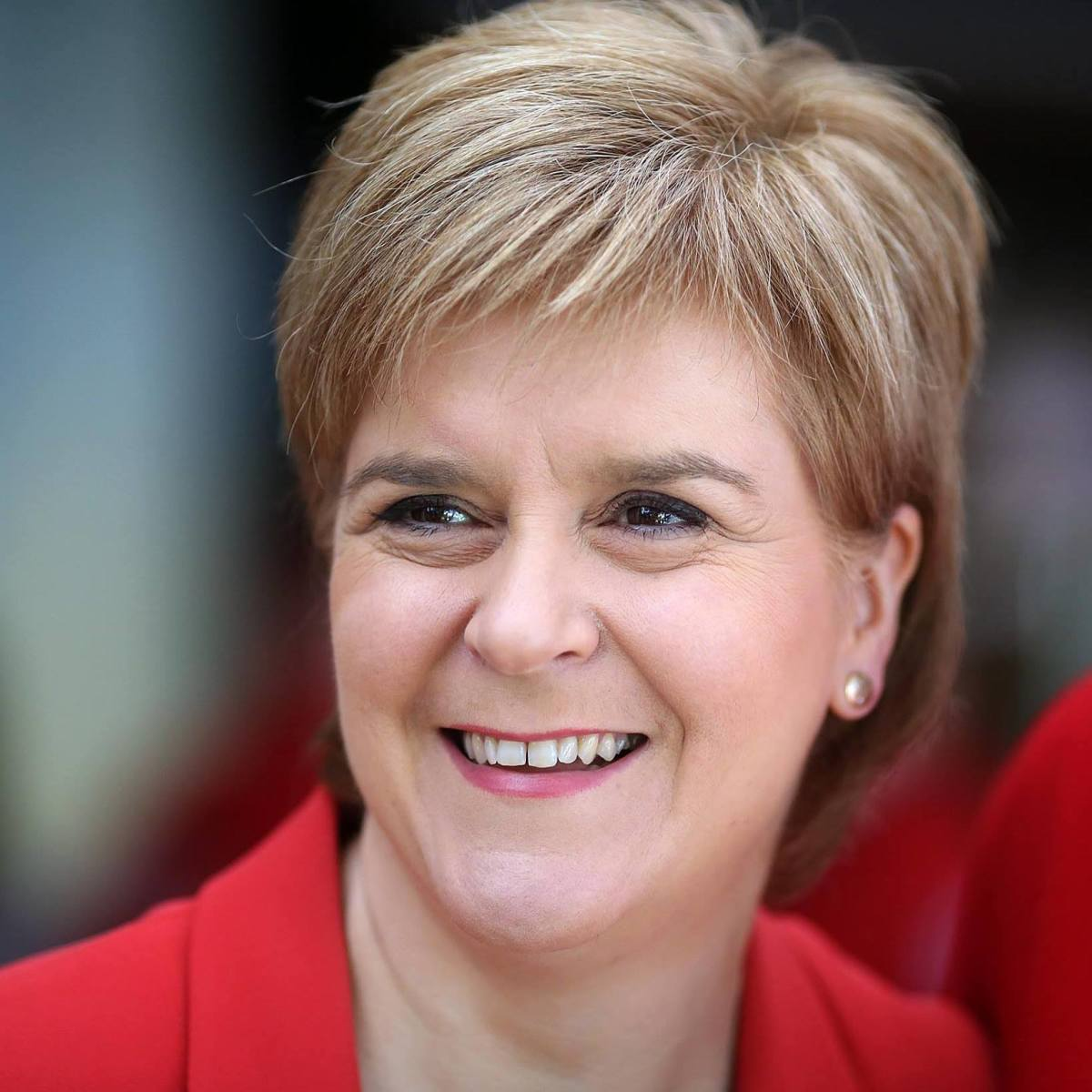 Nicola Sturgeon, Leader of the SNP in Scotland and First minister of Scotland.