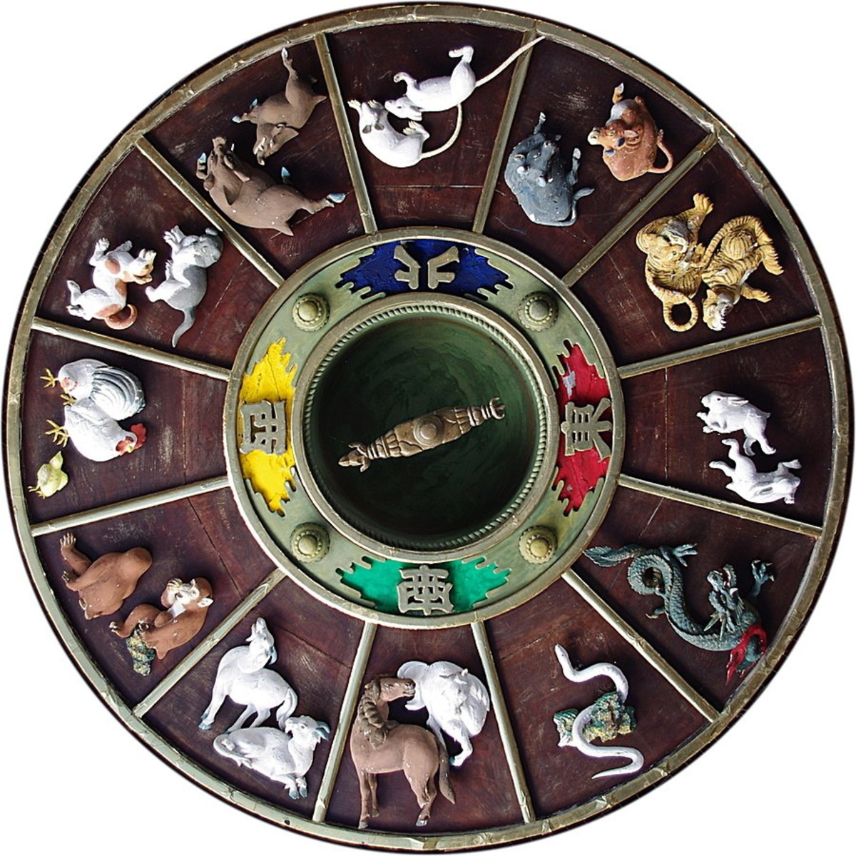 The Chinese Zodiac comprises a different animal representing different types of animal life energy for 12 years. Then each animal varies in slight ways, so in total there are 60 different types of life energy.