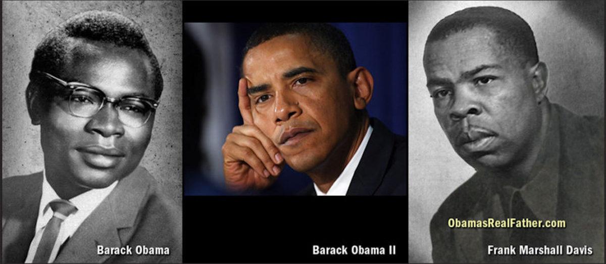 Barack Obama I, Barack Obama II, Frank Marshall Davis