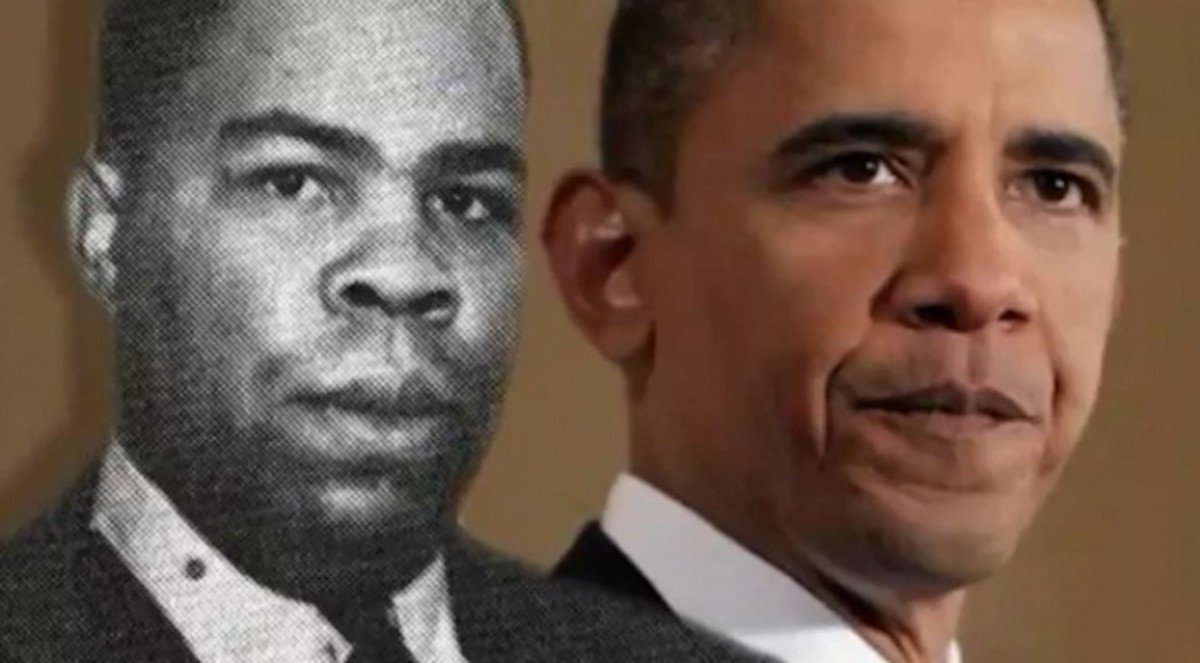 Frank Marshall Davis and Barack Obama, II, a.k.a. Barry Soetoro