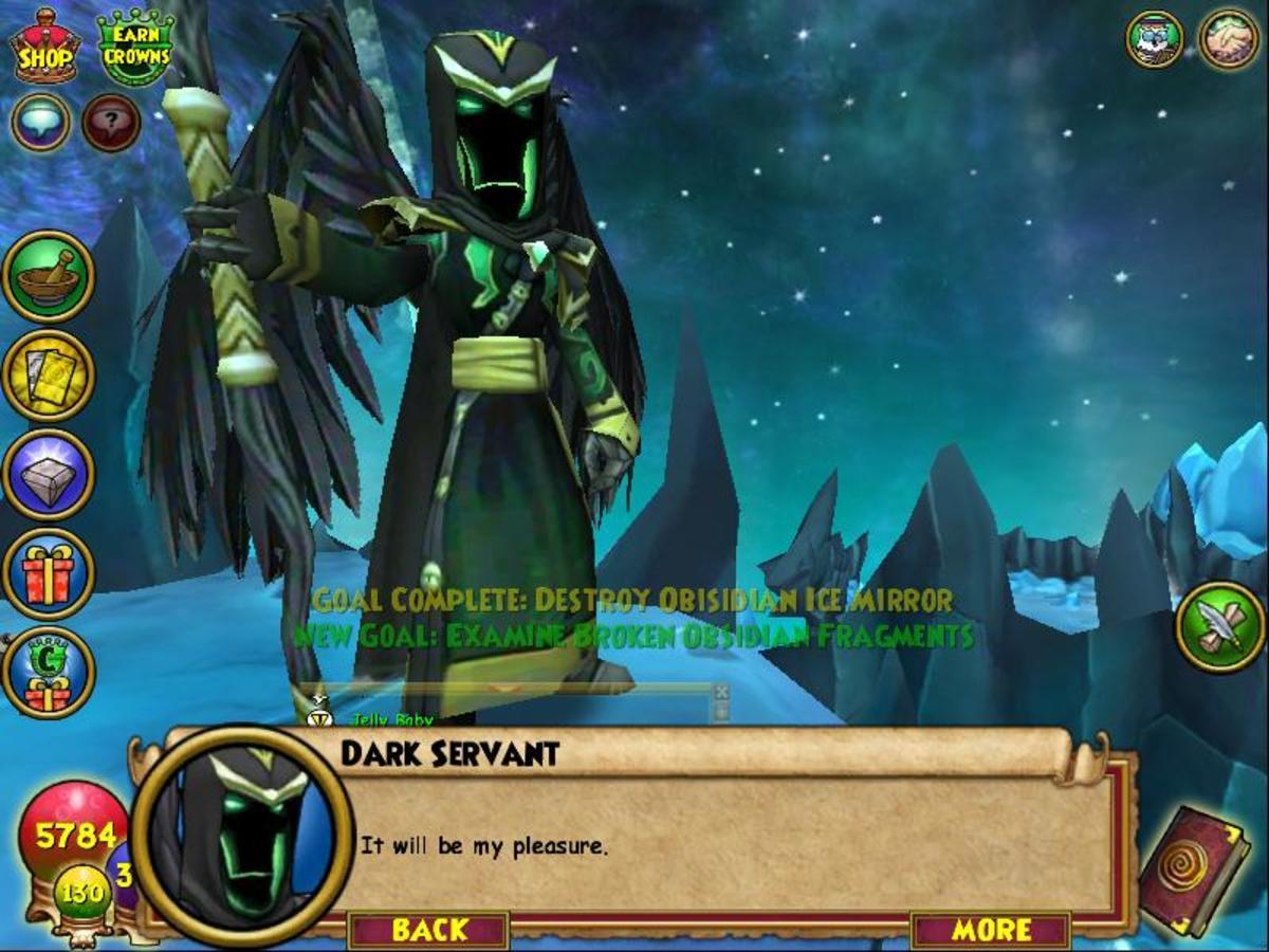 Morganthe's Dark Servant