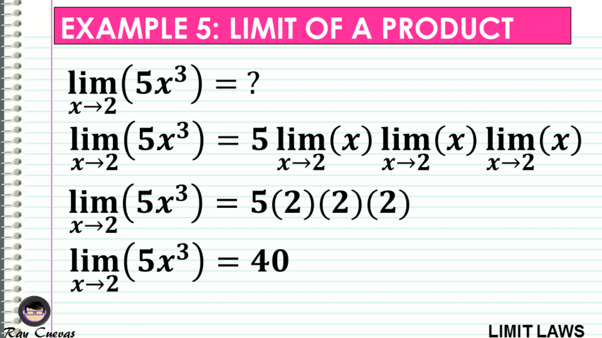 Example 5: Evaluating the Limit of a Product