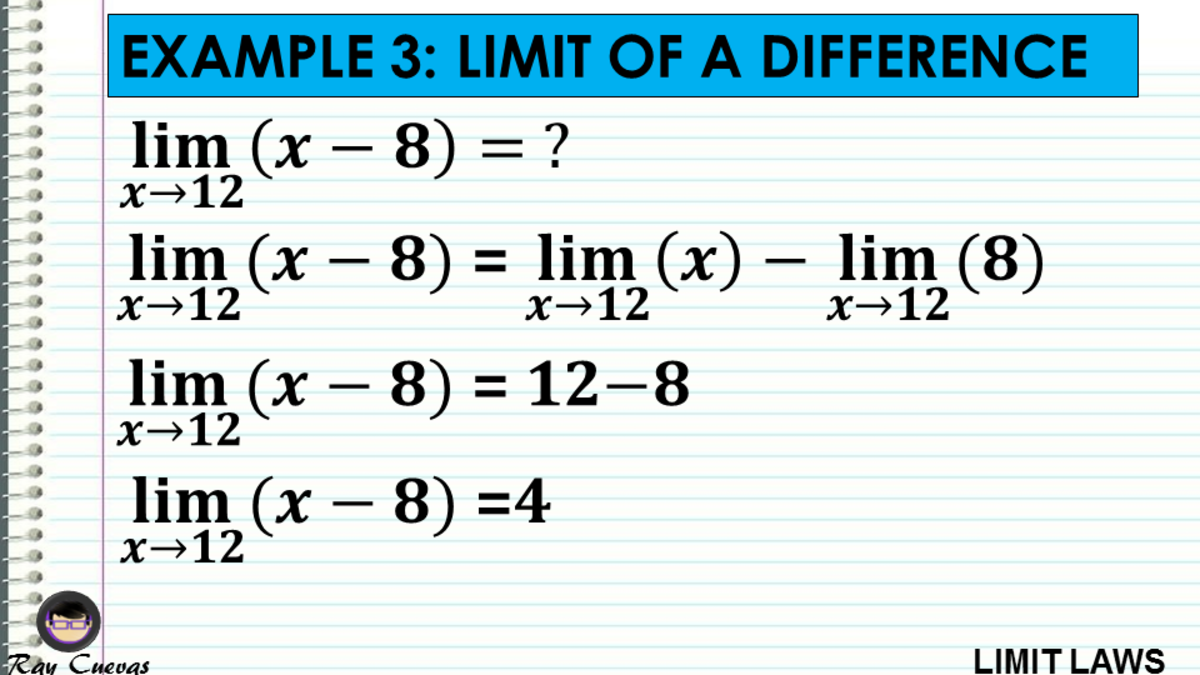Example 3: Evaluating the Limit of a Difference