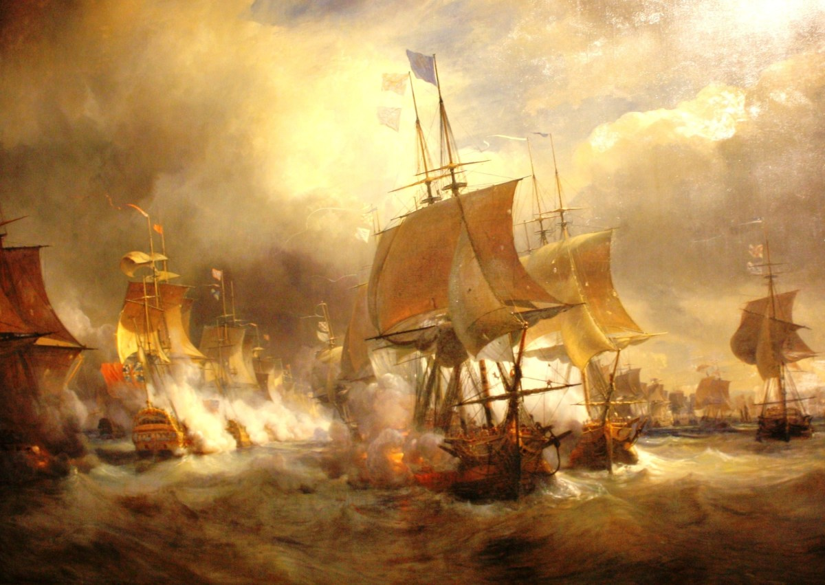 Most naval battles during the 18th century, such as the Battle of Ushant of 1778, were indecisive, so it raises the question of why Mahan focuses on them so much despite their lack of impact.