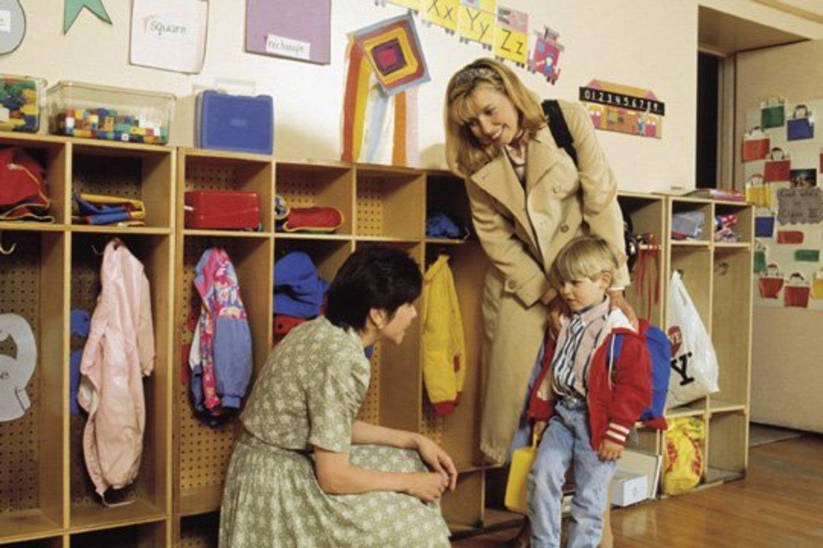 Children Pre-School Age Separation Anxiety
