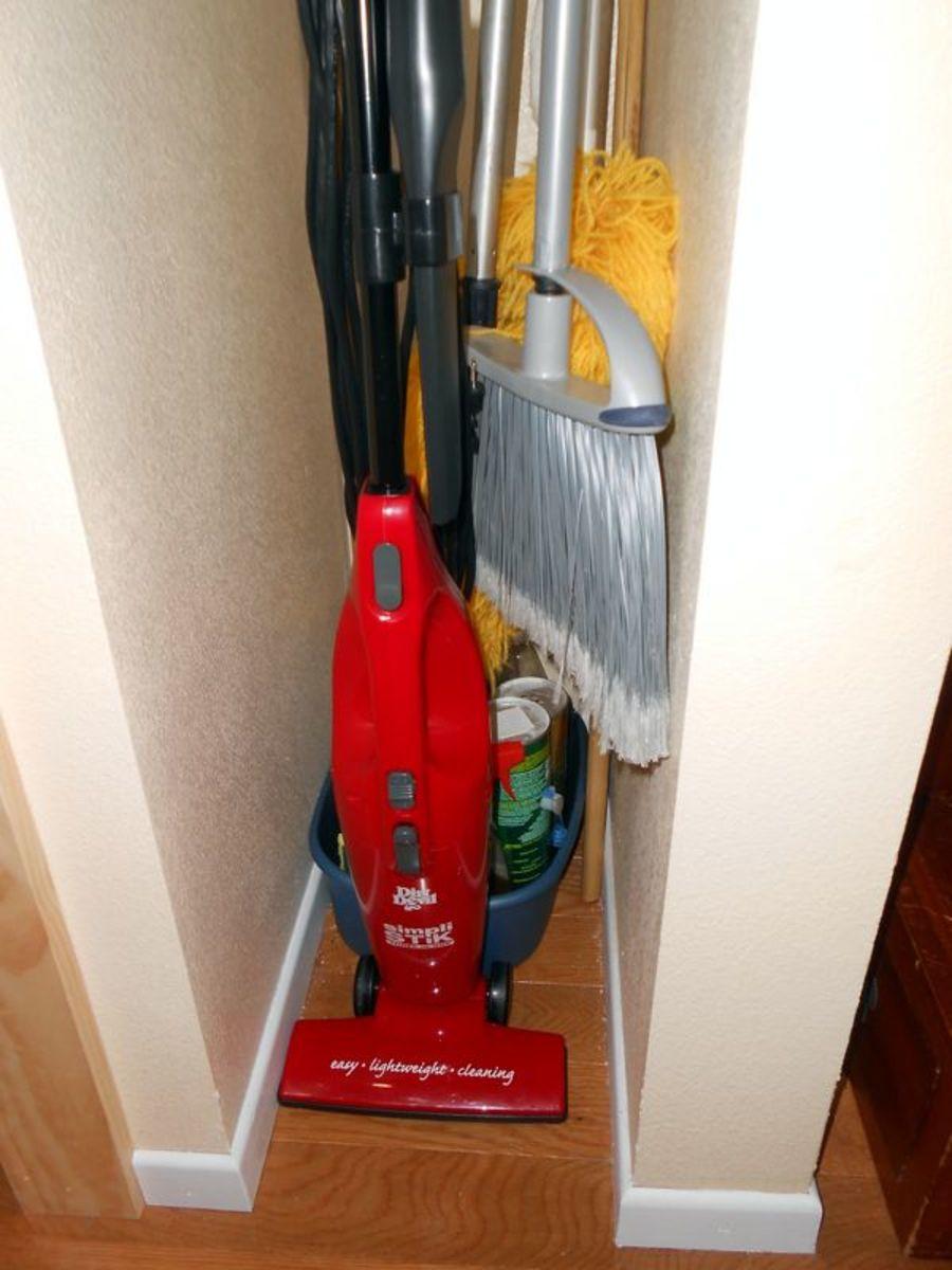 Organized Utility Closet
