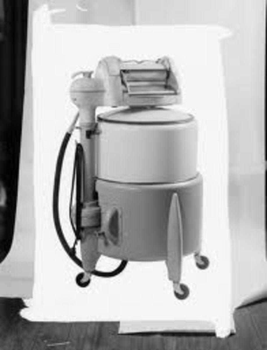 Grandma's Wringer Washing Machine