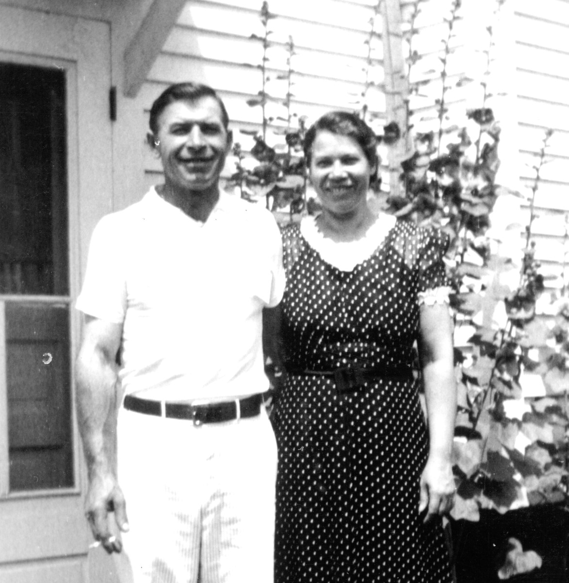 Grandpa and Grandma Lasak, circa 1940