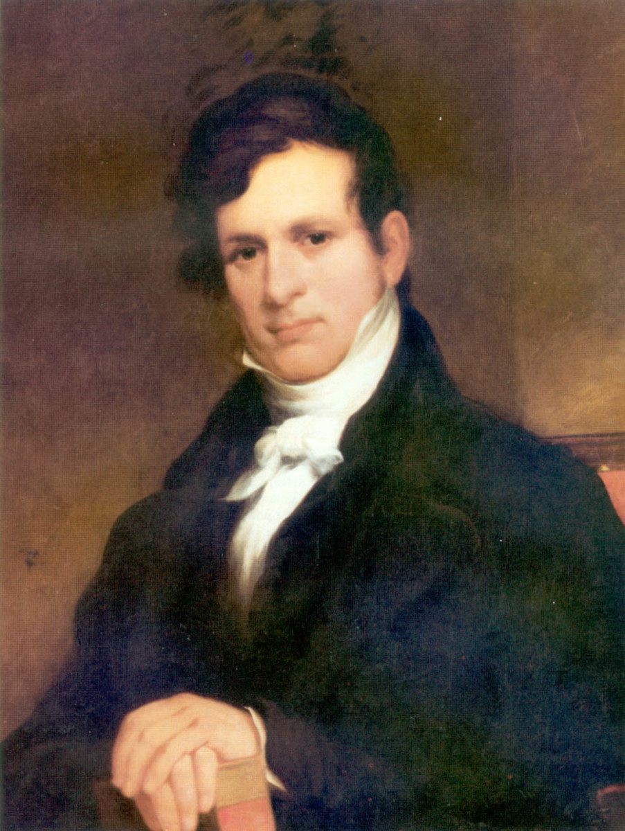 John Henry Eaton (1790-1856) was Jackson's Secretary of War. His marriage to Peggy Eaton, so close to her first husband's death was the catalyst for the drama surrounding their marriage.