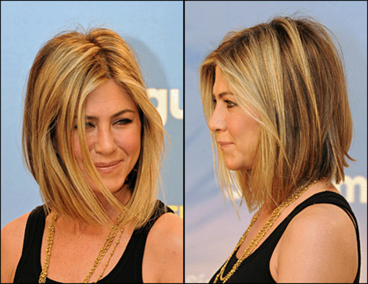 Jennifer Aniston's new haircut (2011)