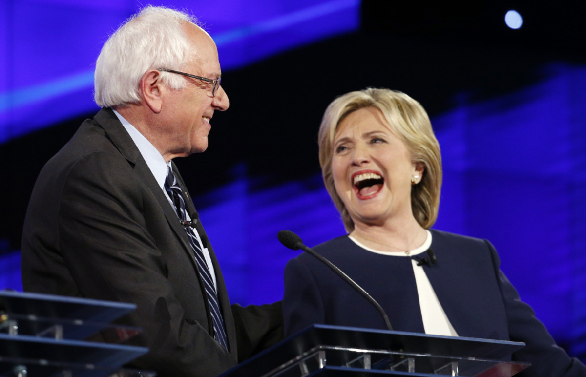 Sanders/Clinton Debate 2016 -  Rock Stars? (No, not even close)