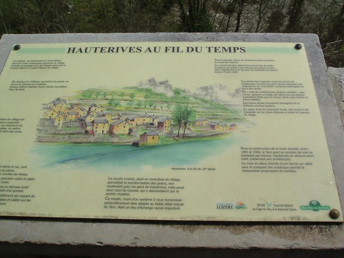 France: Tarn Gorge, Millau Bridge, Overhanging Rocks and Stunning Scenery