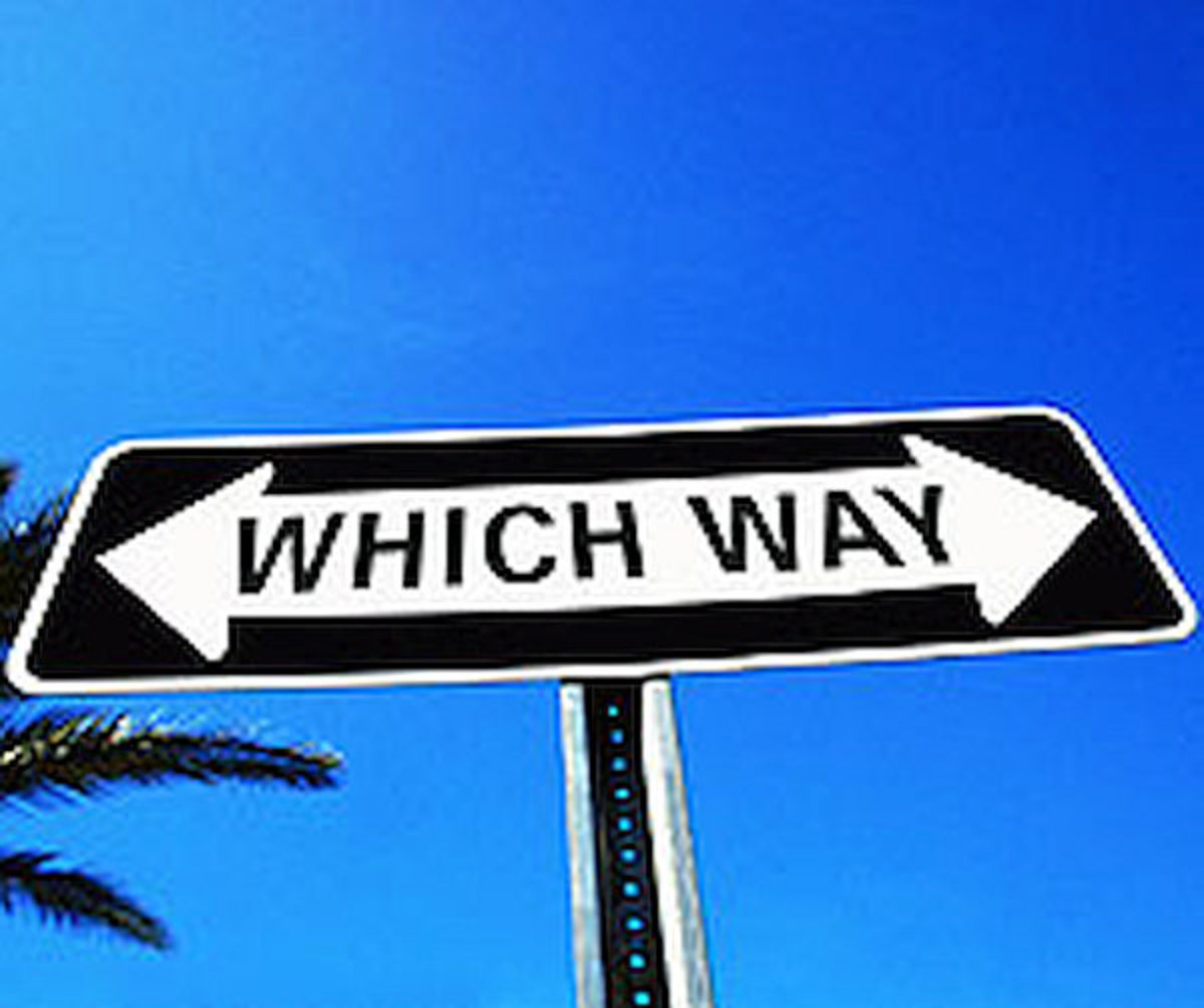 Without discernment, people don't know which way to go.  With discernment, people know which way to go.
