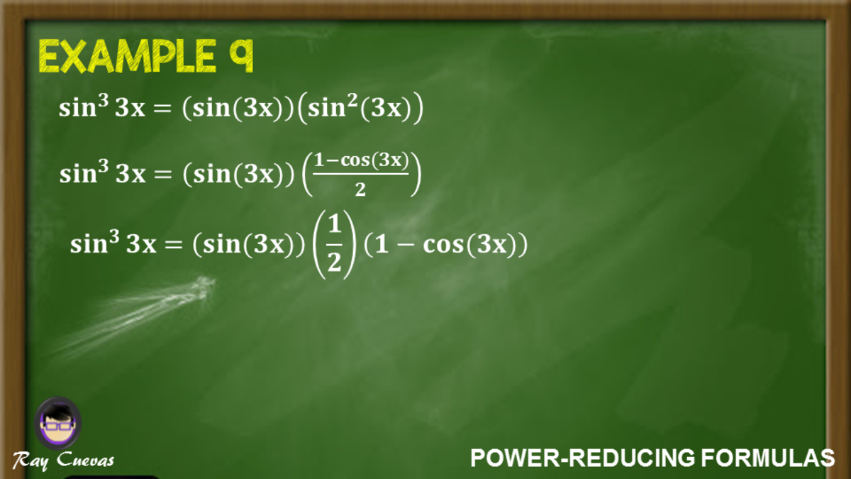 Example 9: Proving Identities Using the Power-Reducing Formula for Sine