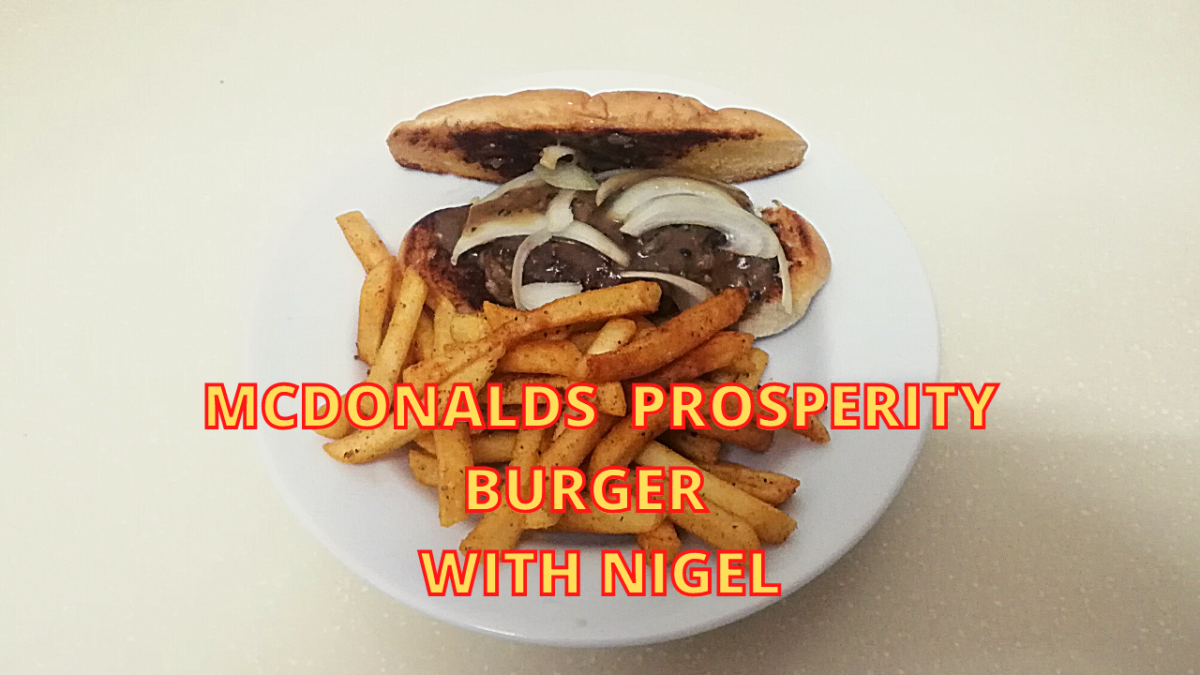 Homemade Prosperity Burger Recipe Inspired by Mcdonalds Malaysia