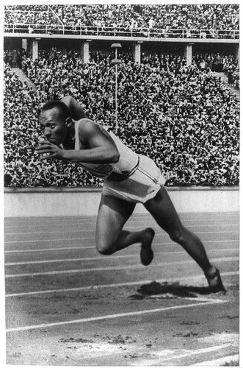 Jesse Owens: The Olympian Who Accidentally Stood Up To Hitler