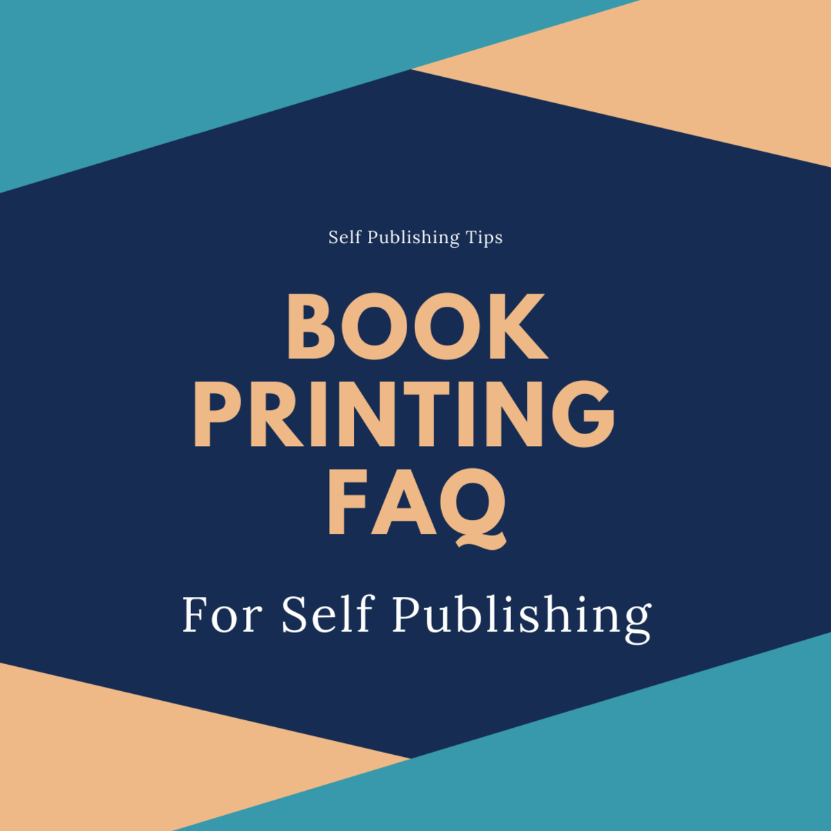 What self published authors need to know about book printing.