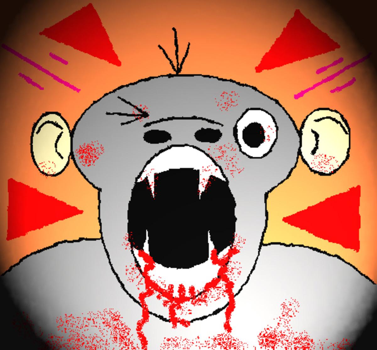 chimp-attack
