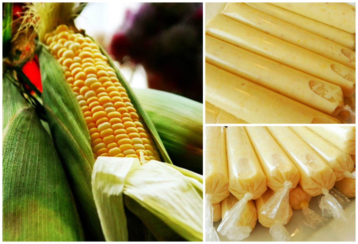 Sweet Corn cool treat!