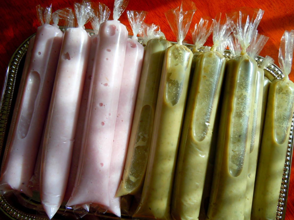 Frozen Treats: Homemade Mongo Bean, Yam & Coconut Ice Candy and more.